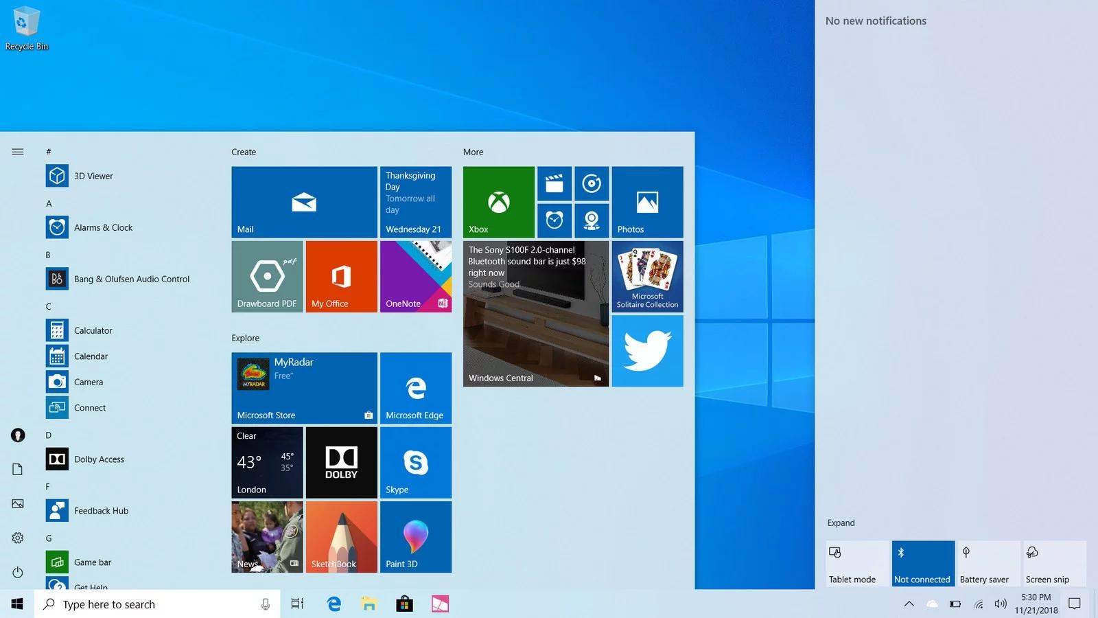 windows 10 mai